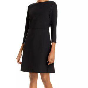 New Theory Kamillina Stretch-Wool Dress Size 6